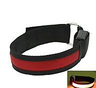 LED Light Arm Band Strap Armband Red (2xCR2032)