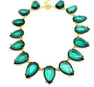 Golden / Yellow / Green Choker Necklaces Party / Daily / Casual Jewelry