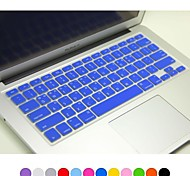 "Coosbo® Korean Layout Silicone Keyboard Cover Skin for 13"",15"",17"" Macbook Air Pro/Retina (Assorted Colors)"