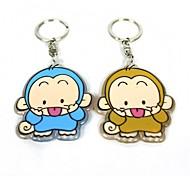 acryliques porte-clés de style de singe (2 pcs)