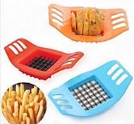 cippatrice patata patate creativo taglio macchina di taglio barra di patatine / patatine fritte colore strumento di blu