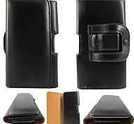 étui en cuir PU avec clip ceinture pour iPhone 6