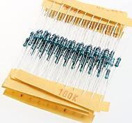 1/4 W Widerstand Metallfilmwiderstände 1% 10r-1m (30 x 10 Stück)