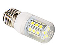 E26/E27 3W 27 SMD 5050 270 LM Natural White T LED Corn Lights AC 85-265 V