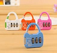 Alloy Fashion Cute Luggage Secure Coded Lock(Random Colors)
