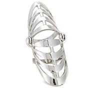 Alloy Hollow Out Fashion Ring(Color Random,Number of Random)
