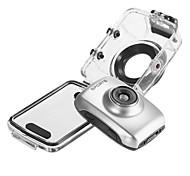 mini-câmera filmadora GoPro ação FPV F5V-HD720p (cinza)