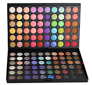 120 Paleta de Sombras Secos / Mate / Brilho / Mineral Paleta da sombra Pó Grande Maquiagem para o Dia A Dia / Maquiagem de Festa