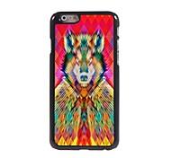 Wolf bunte Design-Alu-Hülle für das iPhone 6
