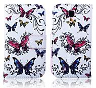 Schmetterlingsmuster Ganzkörper-Case für Samsung Galaxy S4 i9500