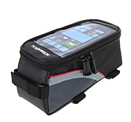 Cycle Bags / Bike Frame Bag / Cell Phone Bag Waterproof / Reflective Strip / Touch Screen Cycling/Bike Polyester Green / Red / Blue