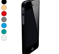 cruz-line ultra-fina de metal de alumínio pára-choques decompor tampa do caso para o iPhone 5 (cores sortidas)
