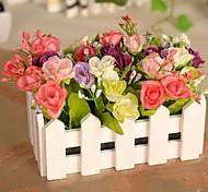 High Grade Diamond Rose Simulation Flowers