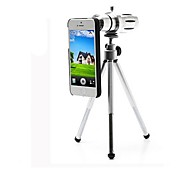 Aluminum Alloy 12X Zoom Microscope Lens Tripod for iPhone 6
