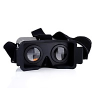 For iPhone 5 5s 5c Cardboard Head Mount Plastic Virtual Reality 3D Video Glasses