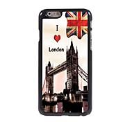 I LOVE London Design Aluminum Hard Case for iPhone 6