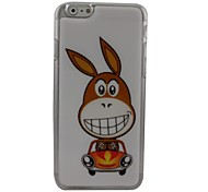 Lovely Rabbit Plastic Hard Back Cover for iPhone 6 Plus