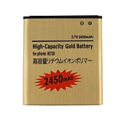 New i8730-GD Golden Battery 3.7V 2450mAh For Samsung Galaxy Express i8730 i8552 i8550 i8558 i8530 i869 i8730 i437