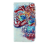 Elephant Pattern PU Leather Full Body Case with Card Slot and Stand for Motorola X+1