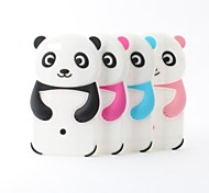 Cartoon Panda Style Silicone Soft Case for iPhone 6/6S (Assoted Colors)