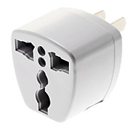 UK/AU/EU to US 3 Pin AC Power Plug Universal Travel Adapter Convertor