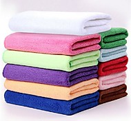 Multifunctional Superfine Fiber Rectangular Speed Dry Towel (Random Color)