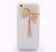 New Arrival 2014 Black Rhinestone Punk Style Skull Cover Diamond Case Cover for iPhone 6
