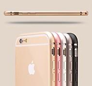 Бампер из авиационного алюминия толщиной 0,7 мм для iPhone 6 Plus (цвета в ассортименте)