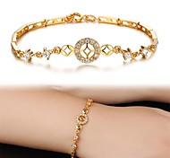 AAA Zircon Exquisite Fashion Lady 18K Bracelet