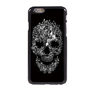 Skull and Butterfly Design Aluminum Hard Case for iPhone 6