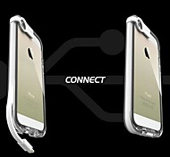 Coway Luminescence Data Wire with Mobile Phone Shell USB Charging Transparent Edge Plastic Back Case for iPhone 5/5S