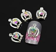 10pcs Beauty Queen's Crown DIY Nail Art Decoration