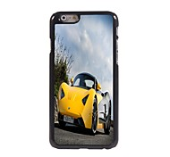 Yellow Racing Car Design Aluminum Hard Case for iPhone 6