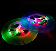 LED Color Change UFO Shaped Light Halloween Props (Random Color)