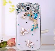 Luxus-Diamant-Schmetterling Hülle für Samsung i9300 Galaxy S3 (farbig sortiert)