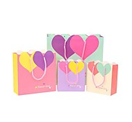 Lureme Fashion Heart and Heart Pattern  Gift Bag(1 Pc)