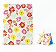 fleur du soleil étui en cuir design avec support pour iPad 2 l'air
