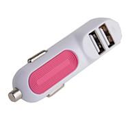 cigarrillo dual universal de coche usb cargador de encendedor (12v 1 / 2.1a)