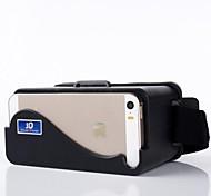 para el iphone 5 cabeza de cartón 5s 5c montar realidad virtual de plástico gafas 3d vídeo