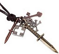 мужские ожерелья год сбора винограда ножа Pandent скрыть канатные мужские ювелирные изделия (1шт)