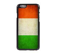 Vintage The Irish Flag Design Aluminum Hard Case for iPhone 6