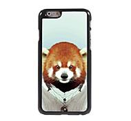 Cute Lemur Pattern Aluminum Hard Case for iPhone 6