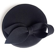 Women's/Flower Girl's Wool Headpiece - Wedding/Casual/Office & Career/Outdoor Hats