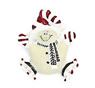 Christmas Gift Christmas Hat Cute Snowman Brooch Brooches Pin