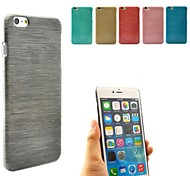 PC Hard Cover Case for iPhone 6 (Assorted Colors)