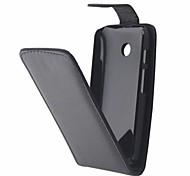 Для Кейс для Motorola Флип Кейс для Чехол Кейс для Один цвет Твердый Искусственная кожа Motorola