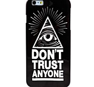 Eye Pattern TPU Soft Case for iPhone 6