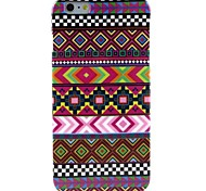 Bright-Coloured Chinese Style Pattern TPU Soft Case for  iPhone 6 Plus