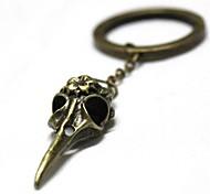 Retro11cm Birdhead Style Zinc Alloy Keychain
