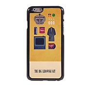 The Big Lebowski Kit Pattern Aluminum Hard Case for iPhone 6